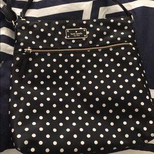Kate Spade polka dot cross body bag